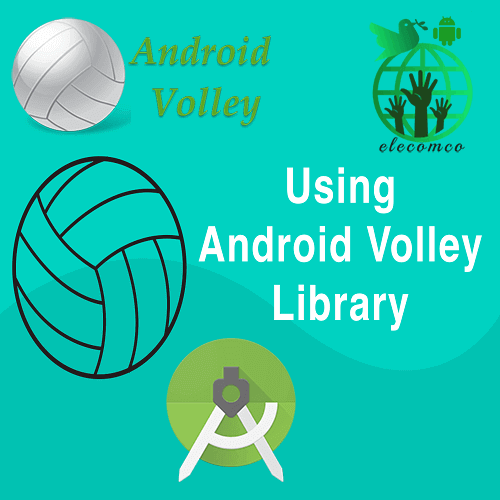آموزش کتابخانه والی (Volley)