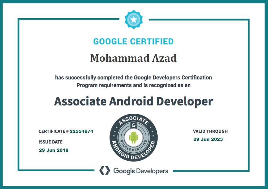 محمد آزاد مدیریت وب سایت تخصصی برنامه نویسی اندروید الکامکو - آموزش آنلاین اندروید - آموزش اندروید استودیو