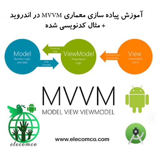 آموزش معماری MVVM در اندروید - پیاده سازی معماری MVVM در اندروید - معماری MVVM اندروید - برنامه نویسی MVVM - آموزش برنامه نویسی اندروید