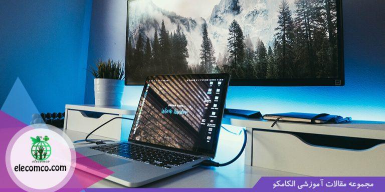 لپ تاپ خوب برای برنامه نویسی اندروید استودیو - لپتاپ برنامه نویسی - الکامکو - کیفیت صفحه نمایش