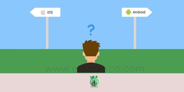 سیستم عامل اندروید یا ios بخریم؟ سایت آموزش اندروید الکامکو